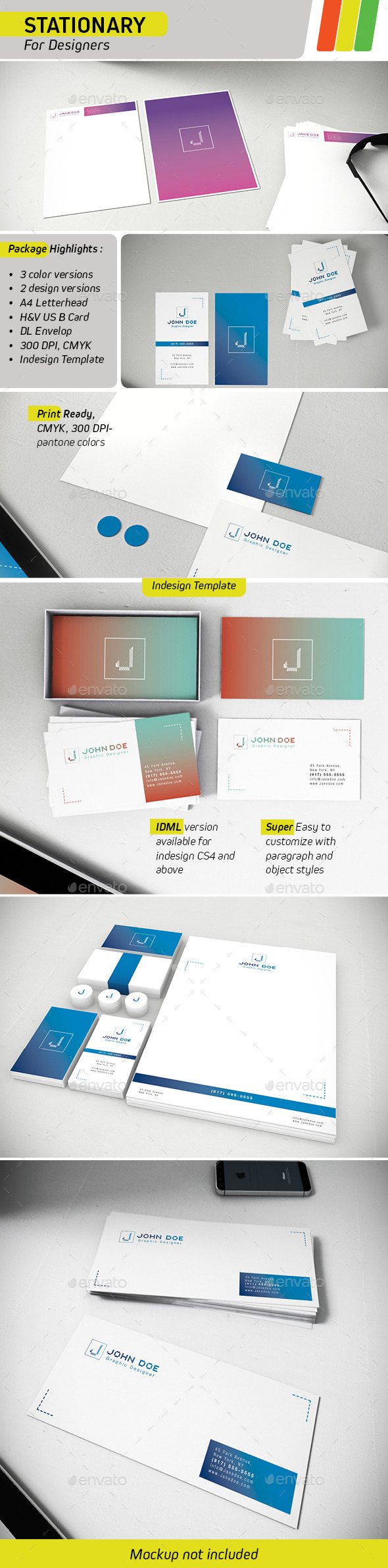 GraphicRiver Stationary Templates for Designers 8936853