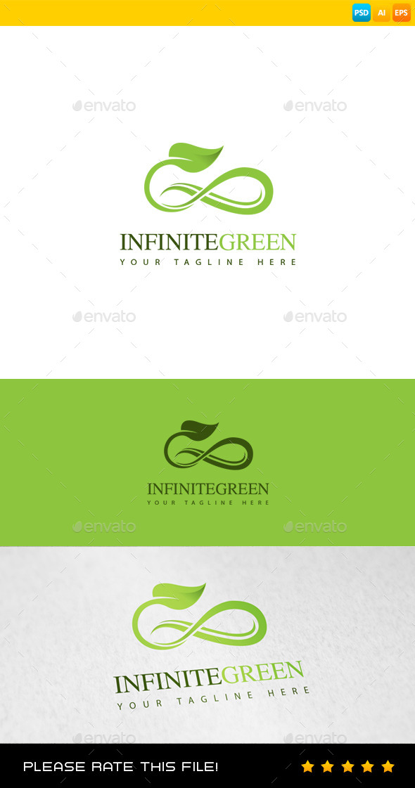 GraphicRiver Leaf Logo 8970534