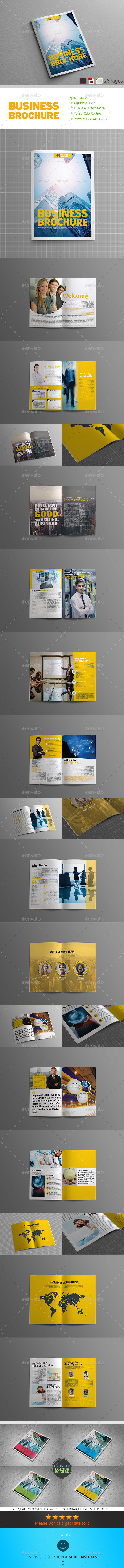 GraphicRiver Business Plan 26 Pages Business Brochure 8970619