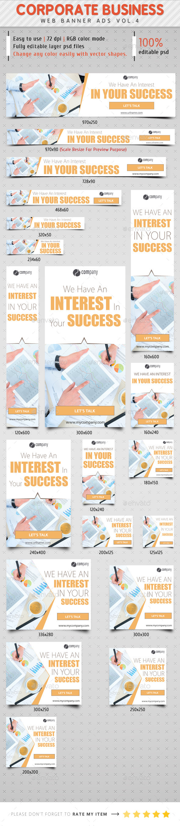 GraphicRiver Corporate Web Banner Ads Vol.4 8953081