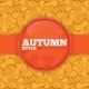 Autumn Background with Pattern. - GraphicRiver Item for Sale