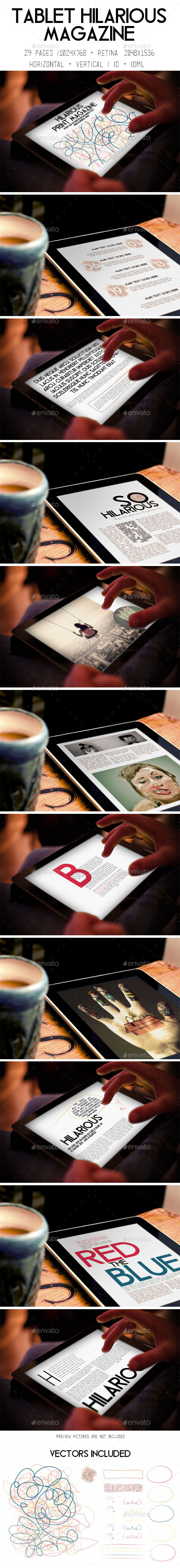 iPad & Tablet Hilarious Magazine