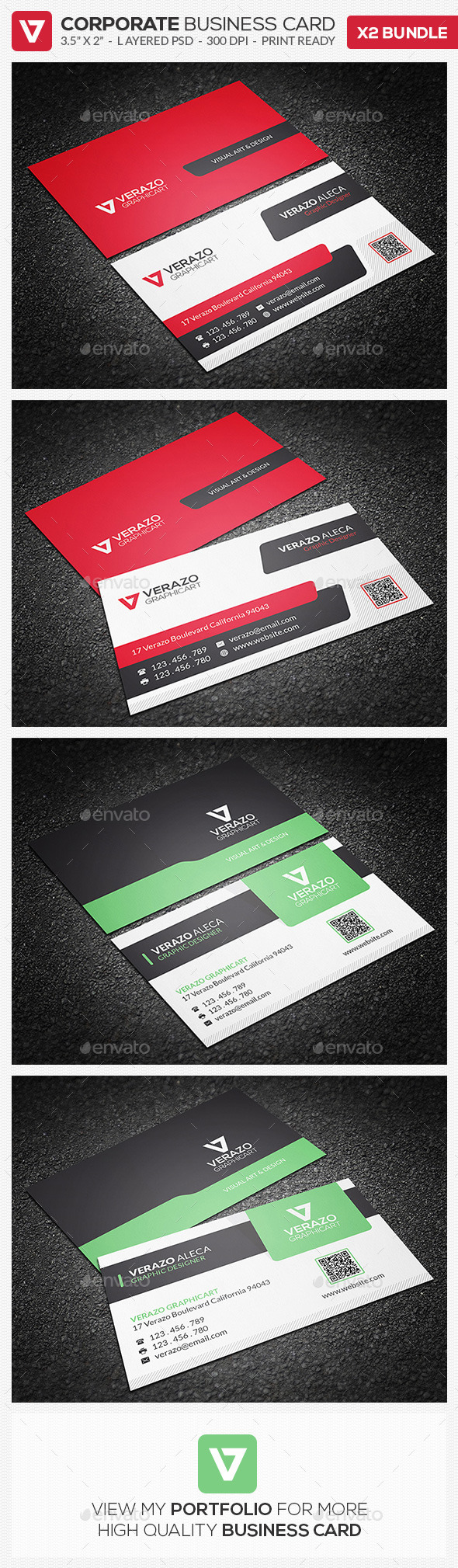 GraphicRiver Business Card Bundle 09 8971107
