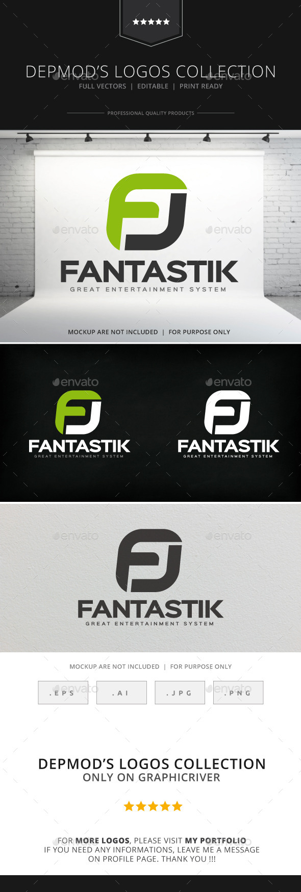 GraphicRiver Fantastik Logo 8971143