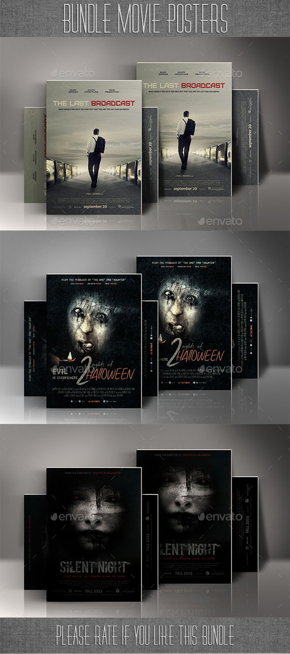 GraphicRiver Bundle Movie Posters 8971664