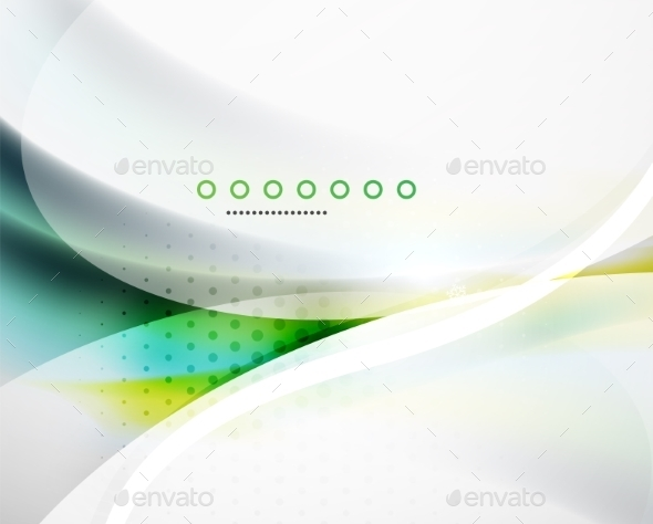 GraphicRiver Business Flowing Wave 8971791