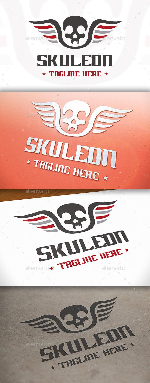 GraphicRiver Skull Logo Template 8971795