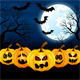 Full Moon on Halloween - GraphicRiver Item for Sale