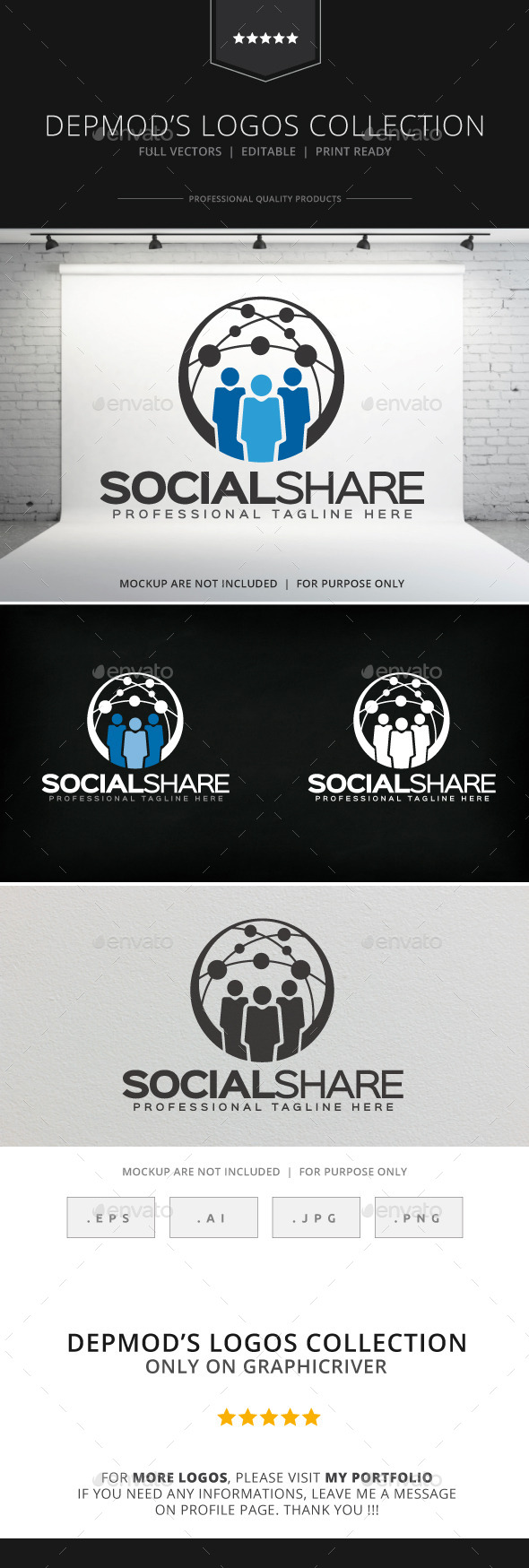 GraphicRiver Social Share Logo 8972576