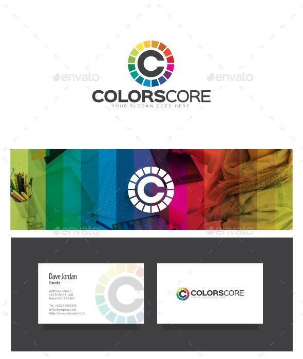 GraphicRiver ColorsCore Letter C Logo 8972582