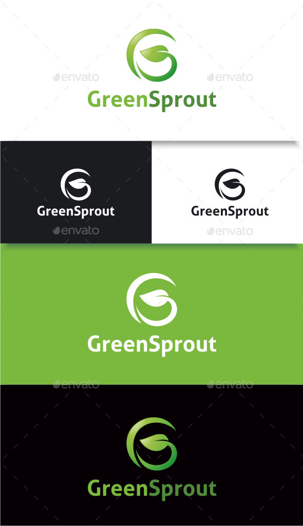 GraphicRiver Green Sprout 8972790