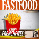 Fast Food Kitchen Video Display - VideoHive Item for Sale
