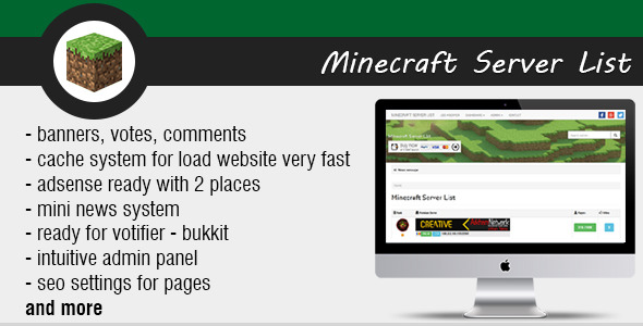 CodeCanyon Minecraft Server List 8972853