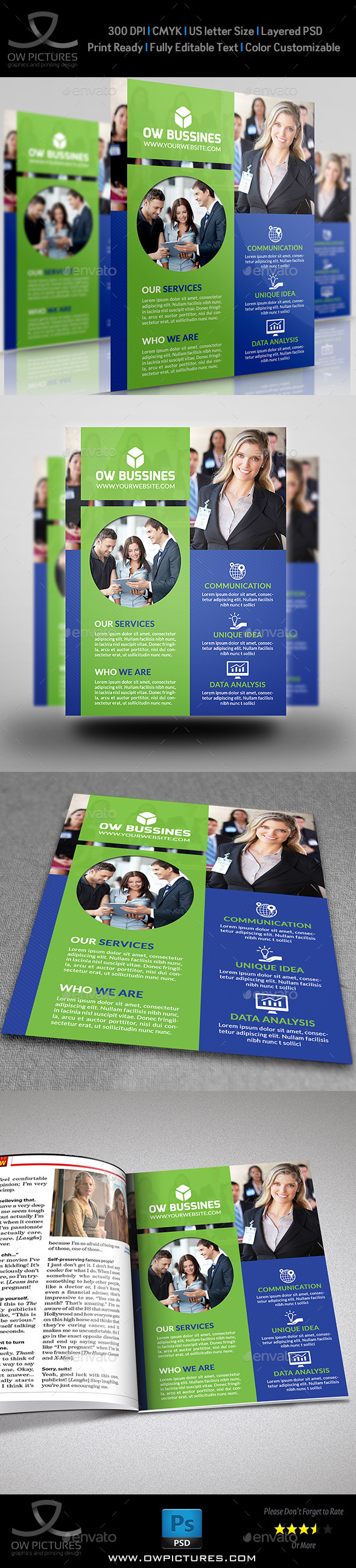 GraphicRiver Corporate Business Flyer Vol.13 8973080