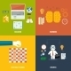 Icons for Education Headwork Strategy and Business - GraphicRiver Item for Sale