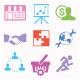 Seo and Business Services Icons Set 2