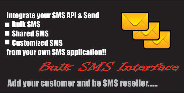 CodeCanyon Bulk SMS Interface 8973498