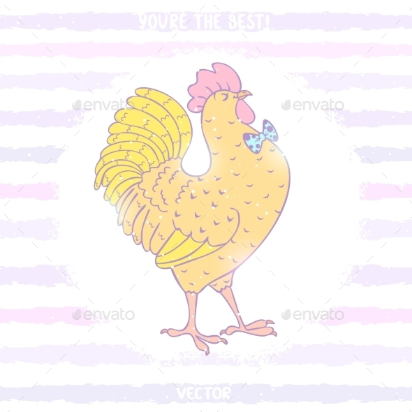 GraphicRiver Cockerel 8973545