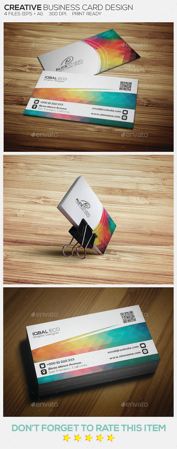 GraphicRiver Creative Business Card Design 8973663
