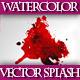 Set of Colorful Watercolor Splashes - GraphicRiver Item for Sale