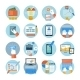 Office and Marketing Icons - GraphicRiver Item for Sale