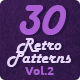 30 Retro and Vintage Patterns - GraphicRiver Item for Sale