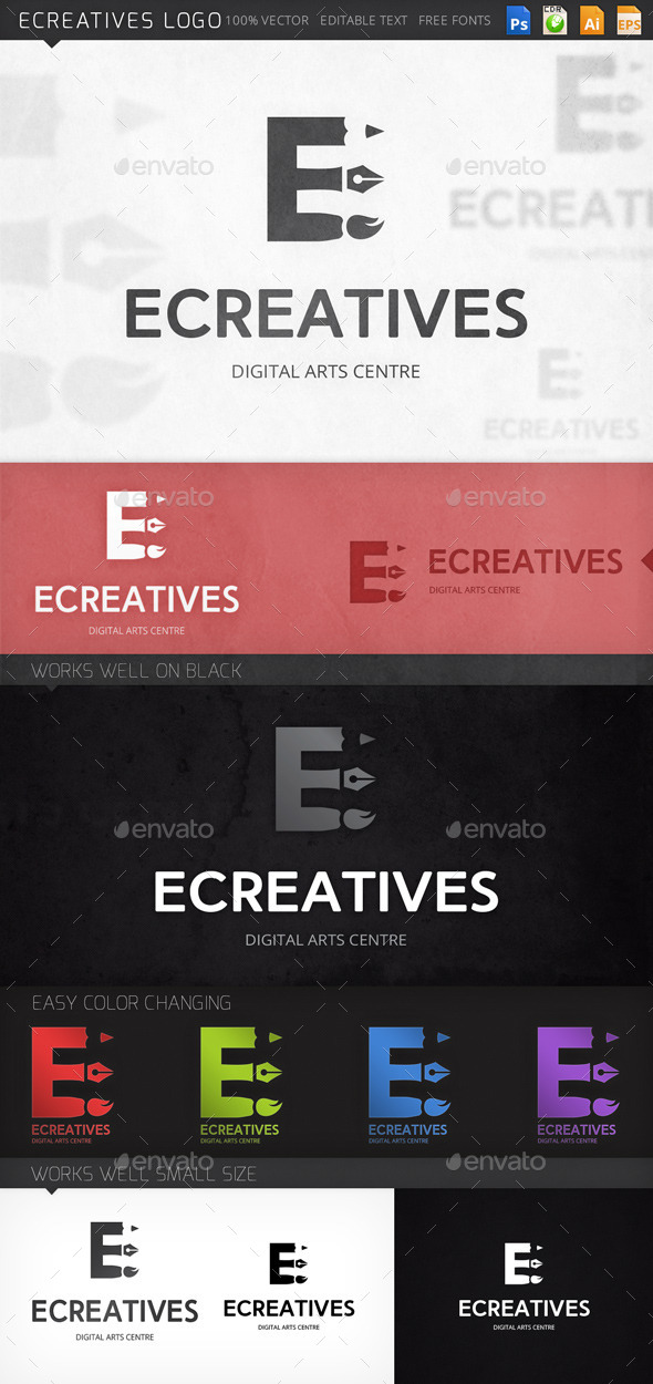 GraphicRiver Ecreatives Logo 8974112