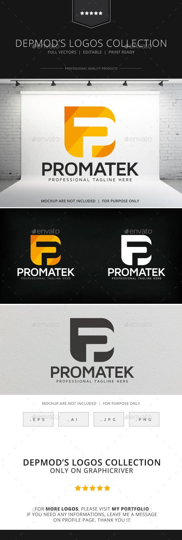 GraphicRiver Promatek Logo 8974272