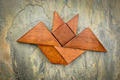 tangram bat abstract - PhotoDune Item for Sale