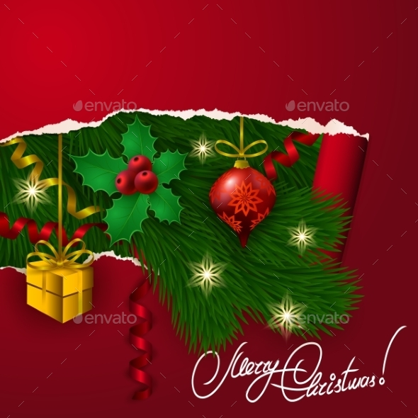 GraphicRiver Vector Christmas Background 8974298