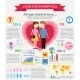 Love Infographic Set - GraphicRiver Item for Sale