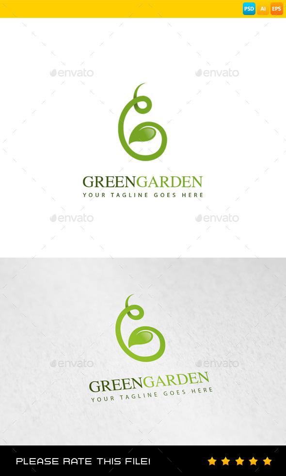 GraphicRiver Garden Logo 8974311