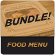 Food Menu Bundle 12 - GraphicRiver Item for Sale