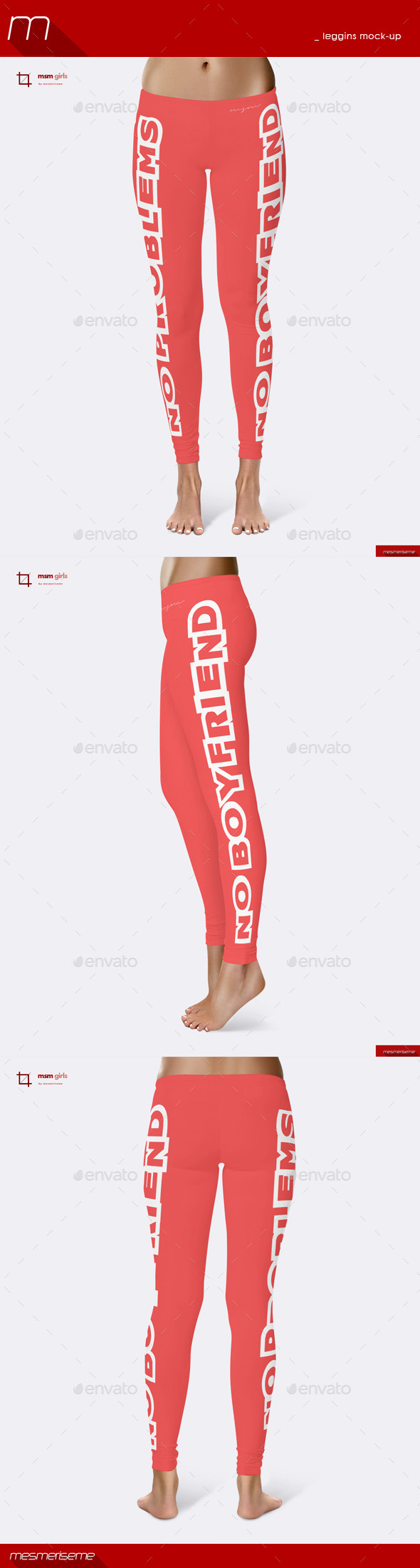 GraphicRiver Leggins Mock-up 8974480