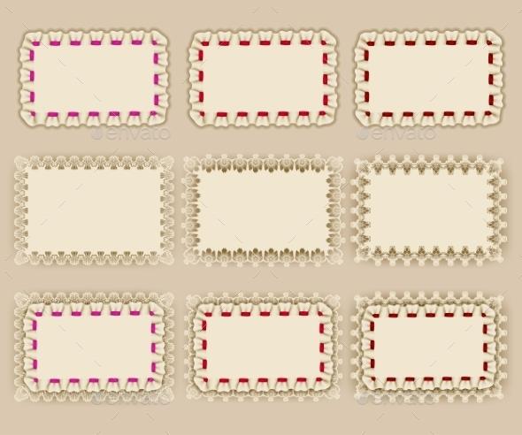 GraphicRiver Set of Elegant Templates Frame Design 8974481