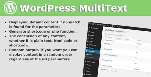 CodeCanyon WP Multitext 8974525
