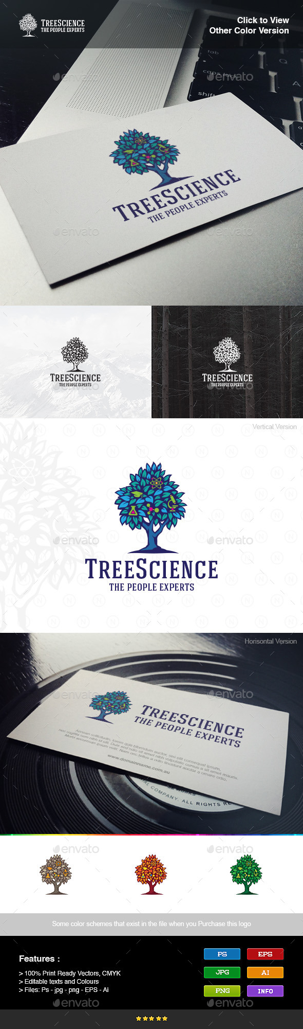GraphicRiver Tree Science 8974580