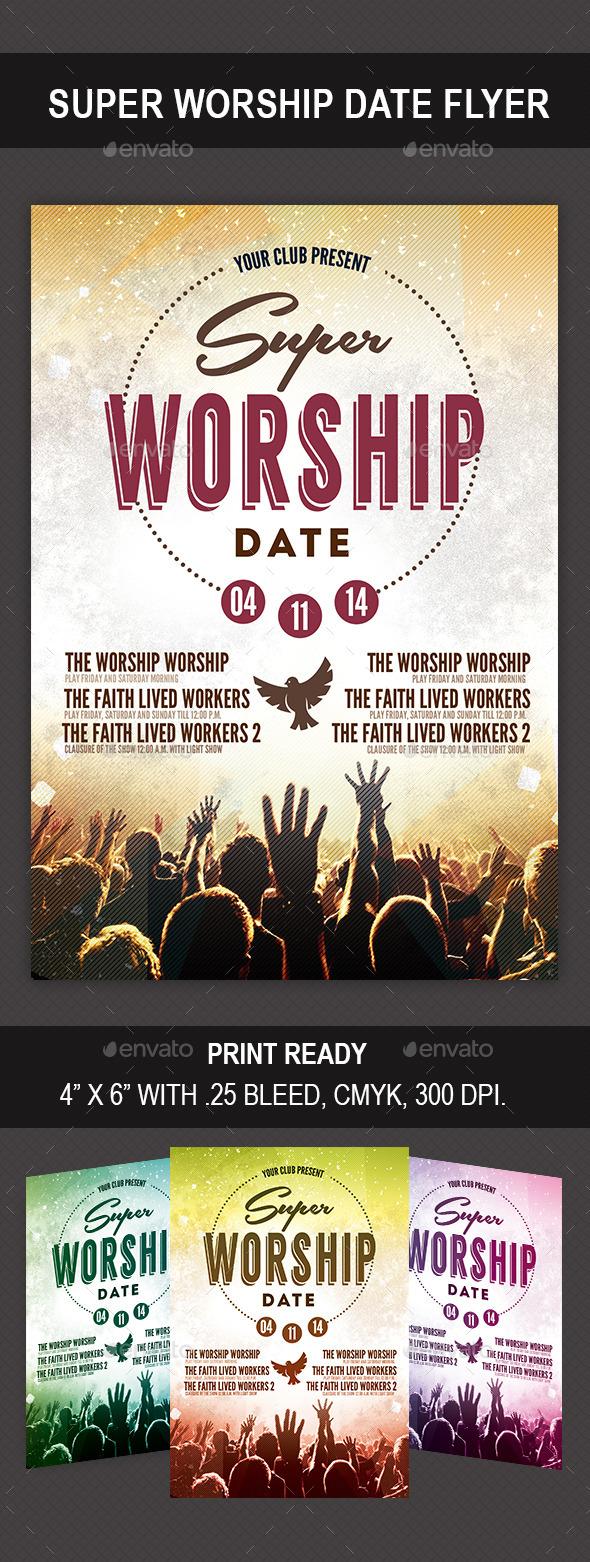 GraphicRiver Super Worship Date 8974597