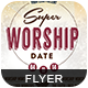 Super Worship Date - GraphicRiver Item for Sale
