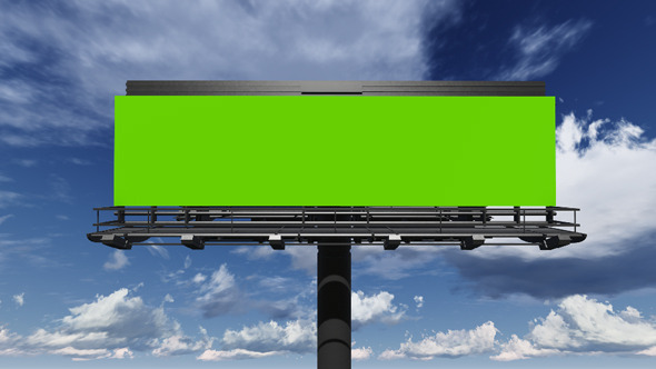 VideoHive Blank Billboard Ready For New Advertisement 8974630