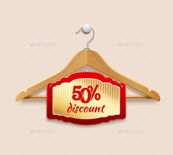 GraphicRiver Clothes Hanger Discount 8974659