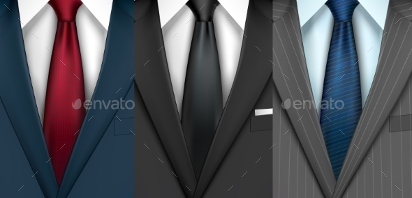 GraphicRiver Businessman Suit Set 8974664