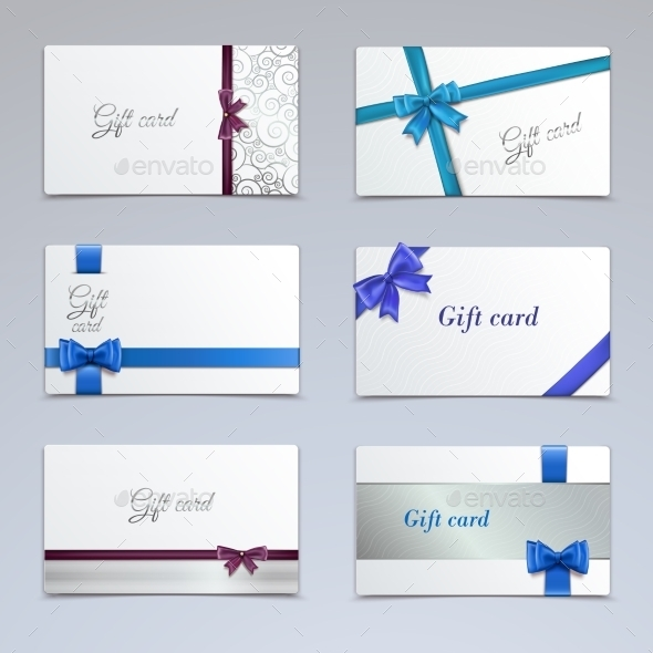 GraphicRiver Gift Cards Set 8974669