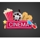 Cinema Icons Concept - GraphicRiver Item for Sale