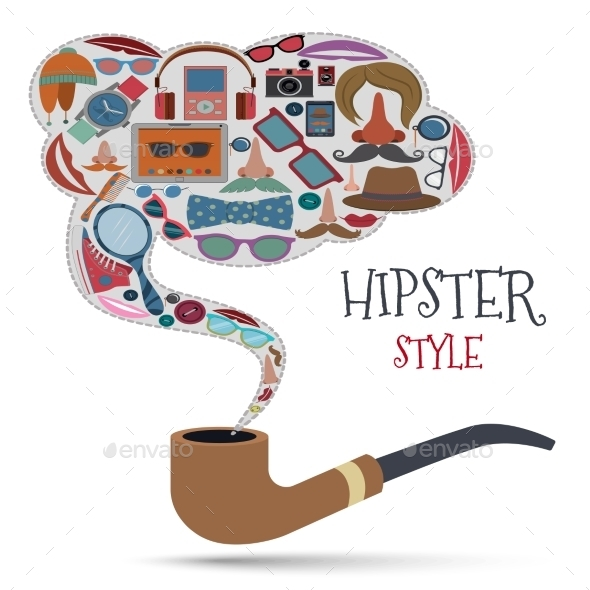 GraphicRiver Hipster Style Concept 8974770