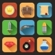 Game Resources Icons Flat - GraphicRiver Item for Sale