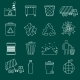 Garbage Icons Outline - GraphicRiver Item for Sale