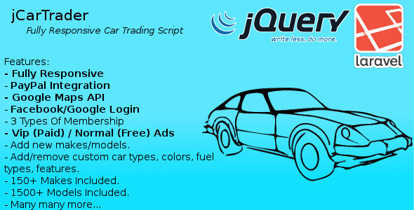CodeCanyon jCarTrader The Responsive Car Trader Script 8974865