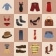 Clothes Icons Set - GraphicRiver Item for Sale