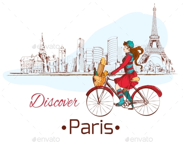 GraphicRiver Discover Paris Poster 8975049